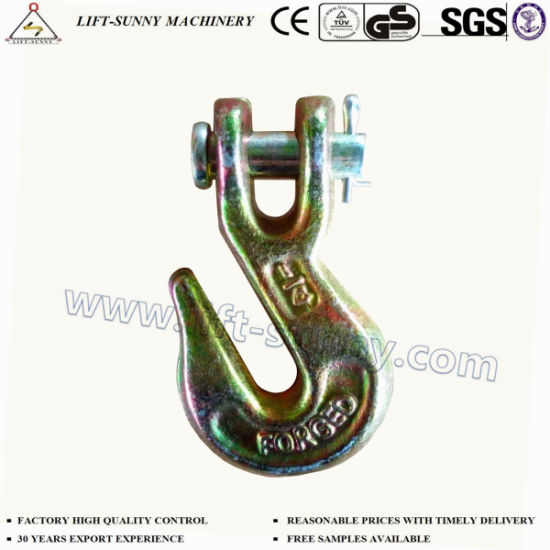 "1/4"" A330 Forged Alloy Steel G70 Clevis Grab Hook"