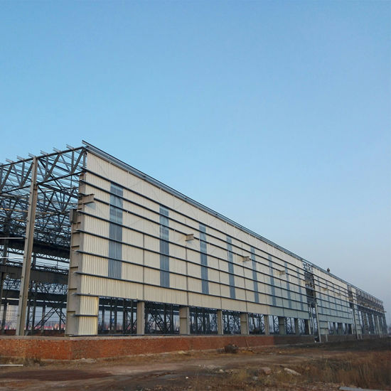 Pre-Fabric Frame Construction Warehouse Steel Structure Building with Best Price