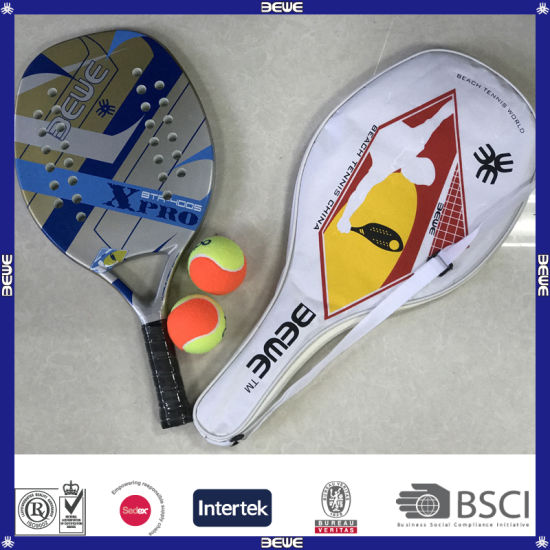 High Quality Carbon Fiberglass Beach Paddle Tennis Racket pictures & photos