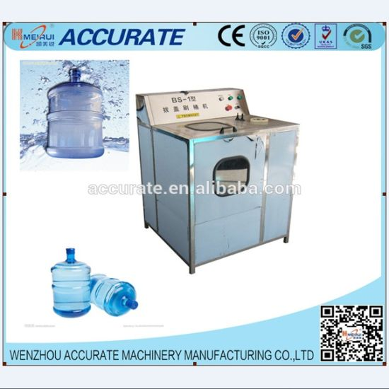 Semi-Auto 5 Gallon Brushing and Decapping Machine