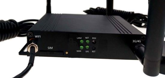 Industrial 4G Lte Modem Car WiFi Router with SIM Card Slot and Openwrt