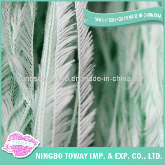Eco Friendly Nylon Green Cheap Fancy Feather Yarn