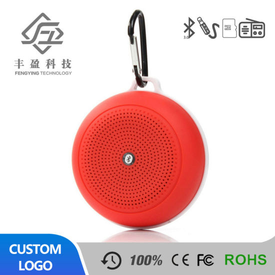 Wholesale Market Factory Price Portable Mini Bluetooth Speaker with Keychain