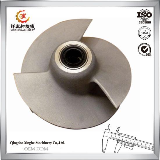 Custom Casting Water Pump Impeller 316 Steel Casting Impeller