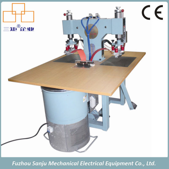 High Frequency Machines for Making Leather Vamp Shoes Welding Machine Price pictures & photos