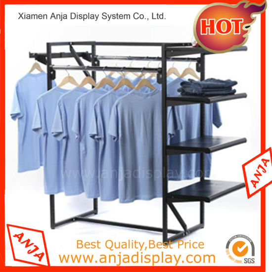 Attractive Custom Table Top Metal Display For Clothing Ping Center