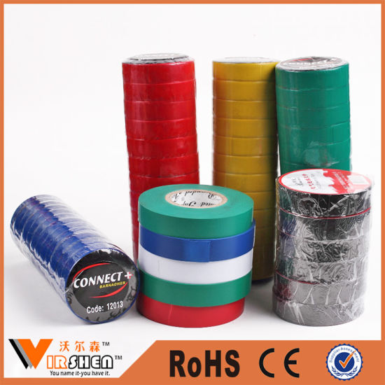PVC Electrical Tape in Jumbo Roll PVC Electrical Insulating Tape pictures & photos