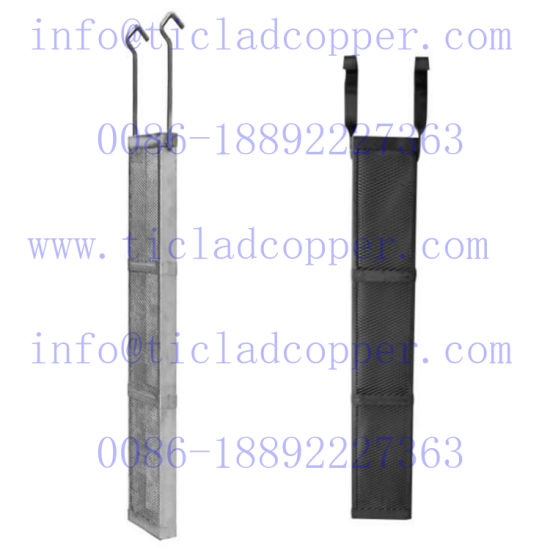 Platinum Electrode Titanium Anode Basket for Copper Electroplating pictures & photos