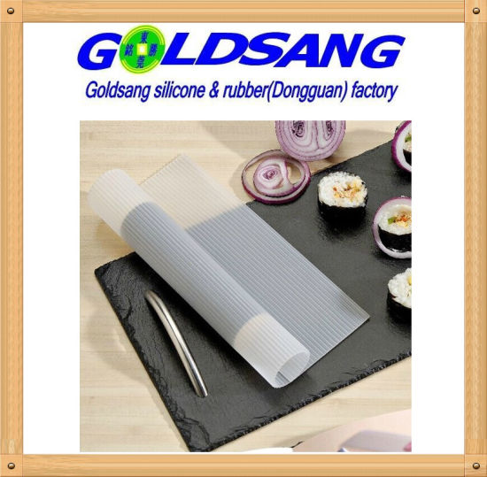 FDA Approved Silicone Steaming Sushi Mat pictures & photos