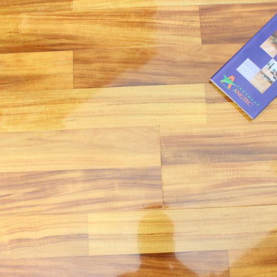 China 123mm High Gloss Hdf Laminated Flooring China Flooring