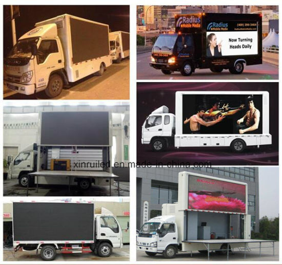 P10 SMD Full Color Mobile Truck Outdoor LED Display Durable Advertising Screen