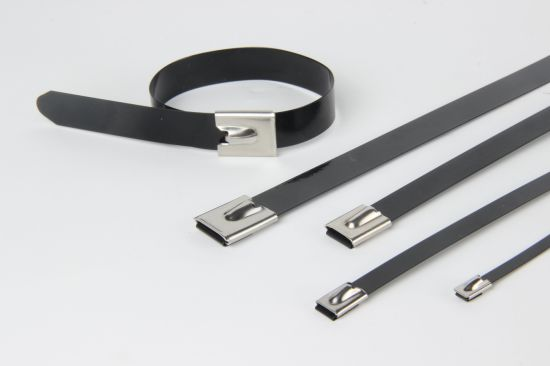 Self Locking Nylon Coated Stainless Steel Cable Tie