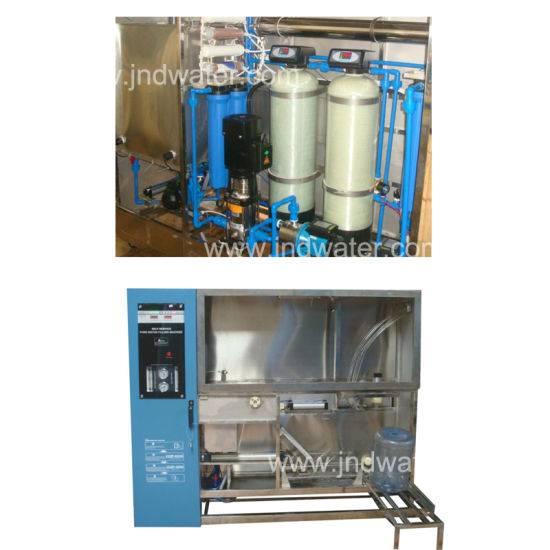RO System Water Treatment &5 Gallon Bottle Filling Machine pictures & photos