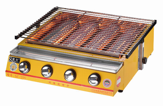 Sc-255 Easily Assembled Stainless Steel Outdoor Gas BBQ Grill