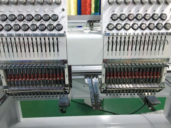 2017 New Style 2 Head High Speed Embroidery Machine Prices pictures & photos