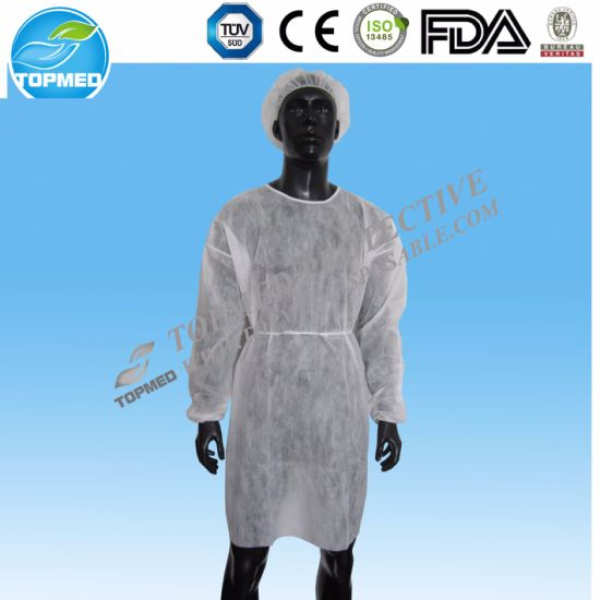 Polypropylene Lab Coat, PP Lab Coat, Labwear pictures & photos