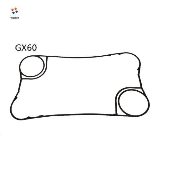 Tranter Gx60 EPDM Gasket for Food Heat Transfer Plate Heat Exchanger