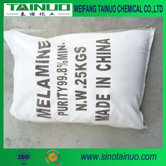 Shandong White Melamine Powder for Plywood