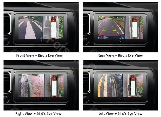 China 360 3d 1080p Hd Bird Eye View Car Camera System For Truck