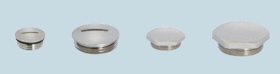 Metallic Threaded Plug Pg/M-TM Type, Made of Brass Plated with Nickel pictures & photos