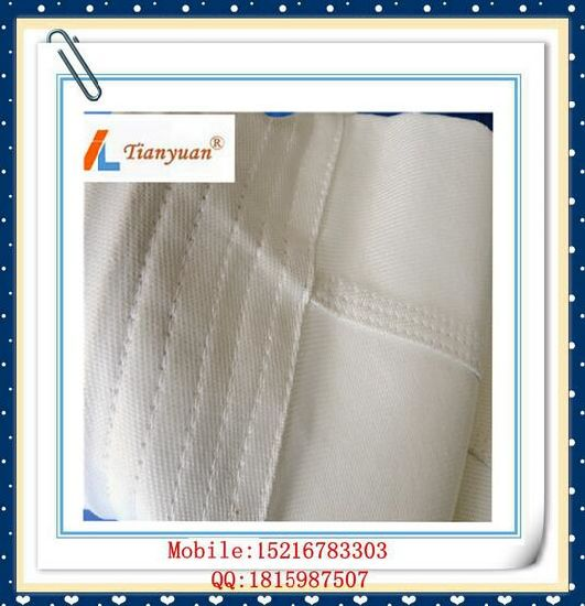 Cement Kiln Inlet Non Alkali Fiberglass Filter Cloth Filter Bag pictures & photos