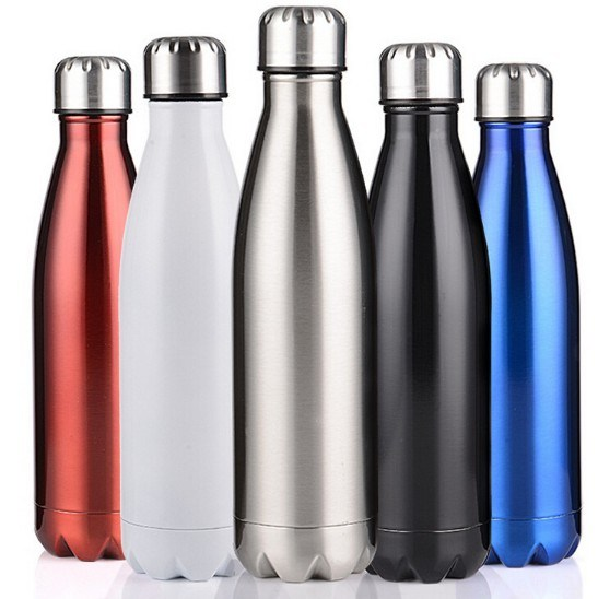 Best Price 500ml 1000ml Stainless Steel Water Bottles pictures & photos