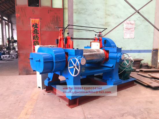 Two Roll Open Rubber Mixing Mill Machinery pictures & photos