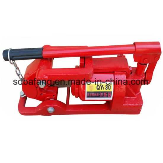China Hot Selling Multi-Purpose Hydraulic Wire Rope Cable Cutter ...