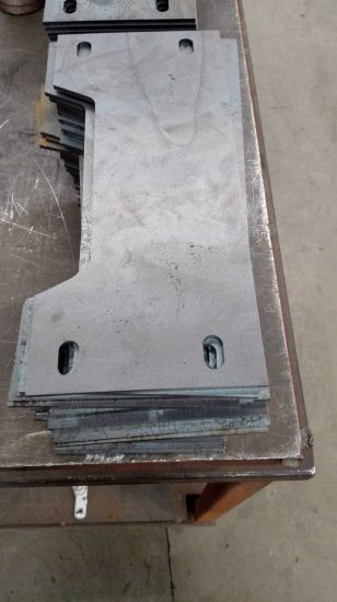 Steel Plate Laser Cutting Processing Metal Parts