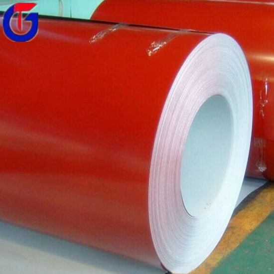 Prepainted Galvanized Cold Rolled PPGI Steel Coil pictures & photos