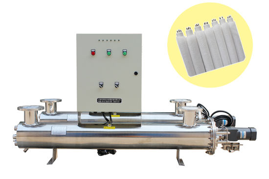 50t/H Automatic Self Cleaning UV Water Sterilizer Purification for Aquariums