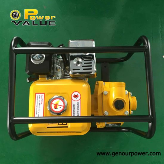 Genour Power 2inch High Pressure Gasoline Engine Gx200 Clear Water Pump Zh20wp pictures & photos