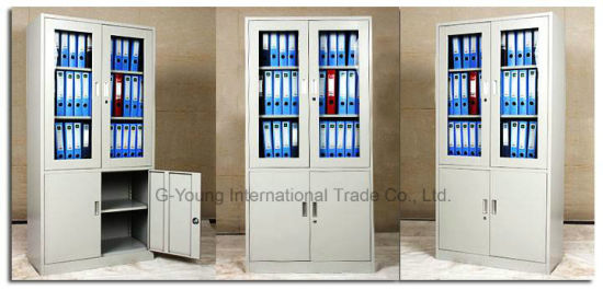 Steel Office Vertical File with Drawers Doors Storage Filing Cabinet