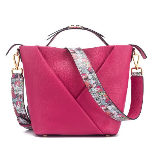 Custom Lady Hang Bag Factory Handmade Genuine Leather Handbag