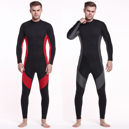 Men′s 3mm Neoprene Wetsuit One-Piece Surfingsuit for Diving pictures & photos