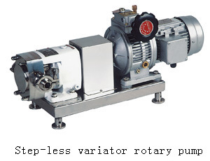 Stainless Steel Lobe Rotor Pump with Variator