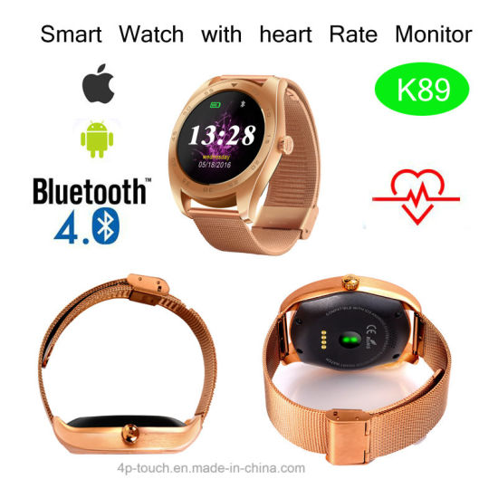 Promotion Gift Smart Watch Phone with Heart Rate Tracking K89 pictures & photos