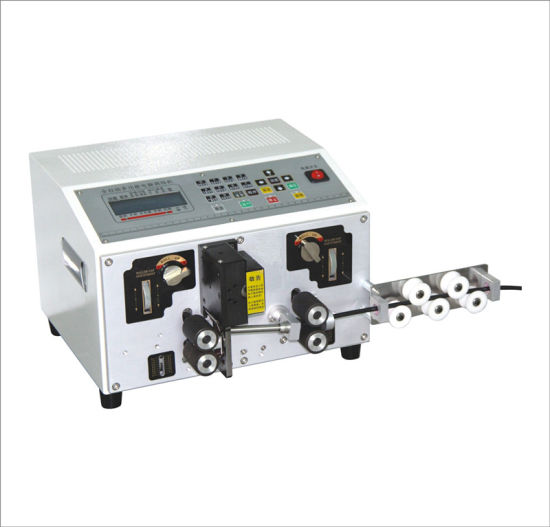 China High Power Automatic Wire Cutting Machine Cable Stripping ...