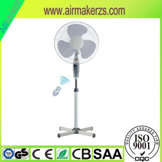 China 16 Oscillating Speeds Adjustable Floor Fans With Ce Gs Cb