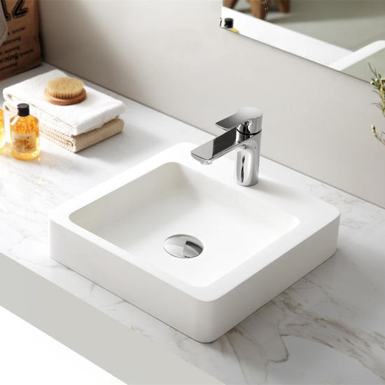 A20 Countertop Artificial Stone Wash Basin Solid Surface Sink