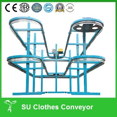 Used in Dry Cleaning Shops Clothes Conveying Machine pictures & photos