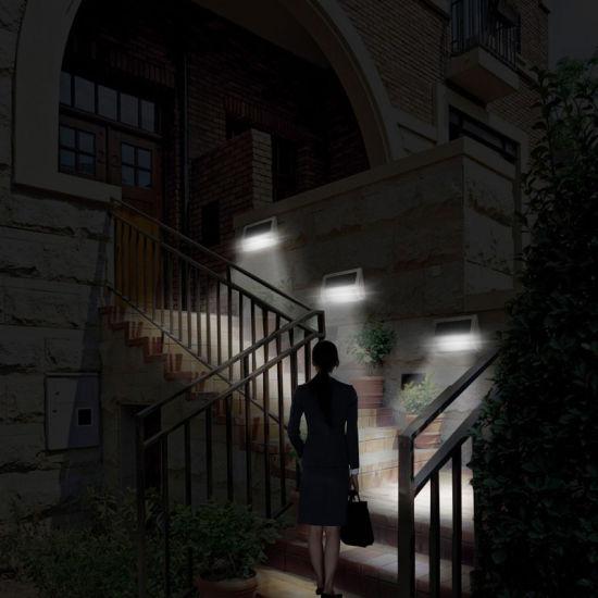 2018 New Solar Stair Light Solar Wall Lights Solar Sensor Light With 9LED