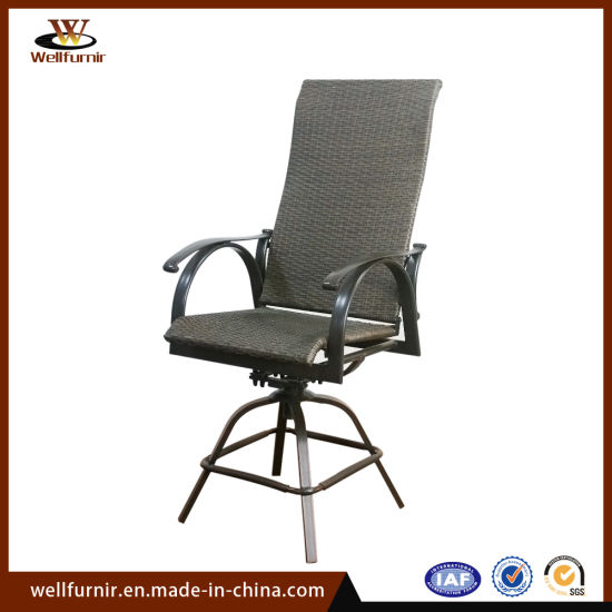 Remarkable Well Furnir Hotel Outdoor Wicker Swivel Chair Wf053265 Cjindustries Chair Design For Home Cjindustriesco