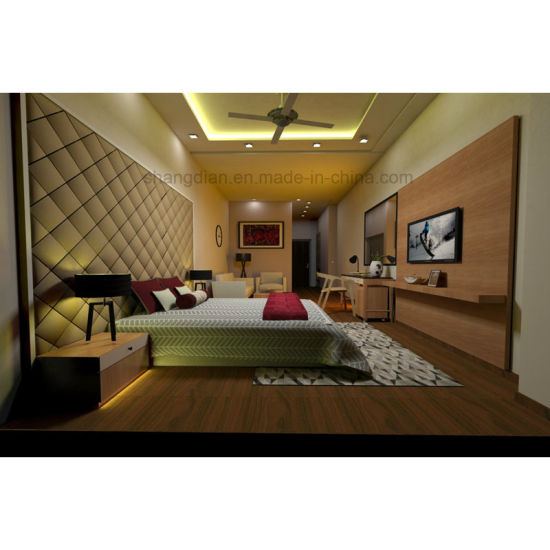 India Market Hot Sale Discount Custom Made Hotel Furniture Bedroom Sets  Packages Modern