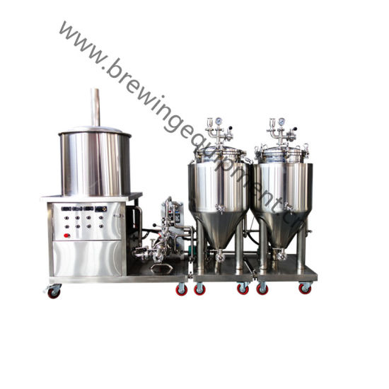 China 40L- 100L Home Brewing System Mini Beer Brewing System