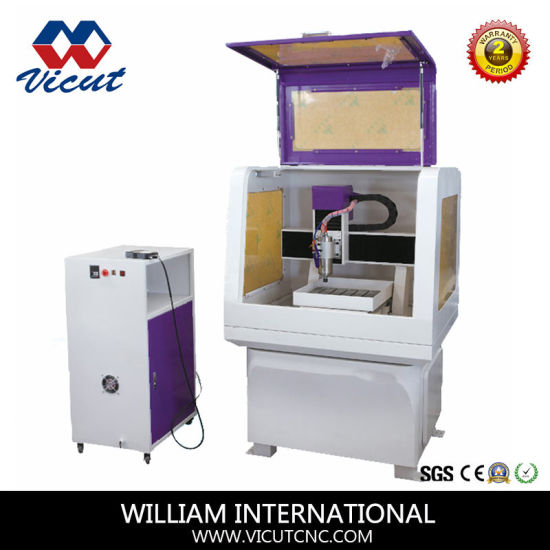 Mini Stainless Steel Mini CNC Engraving Machine Vct-4540 pictures & photos