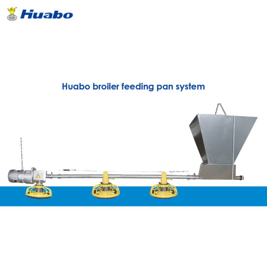Poultry Farm Equipment Auto Feeder Feeding System for Broiler