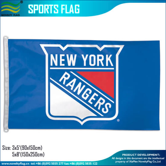 New York Rangers Official NHL Hockey 3′x5′ Flag pictures & photos