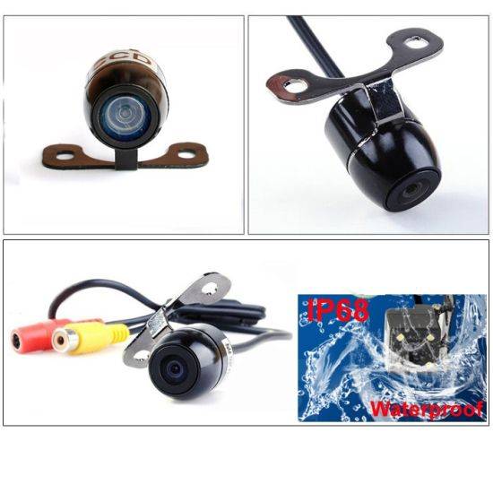 Smallest HD Color CCD CMOS Waterproof Vehicle Car Rear View Backup Camera 3 Category for Option pictures & photos