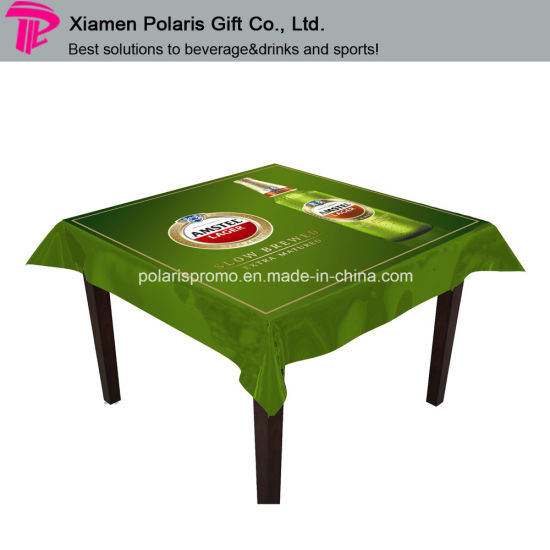 Custom Transpa Reversed Print Plastic Water Proof Pvc Table Cover